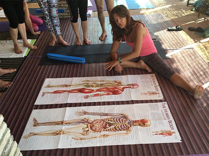 Brigitte-teaching-anatomy-YTT