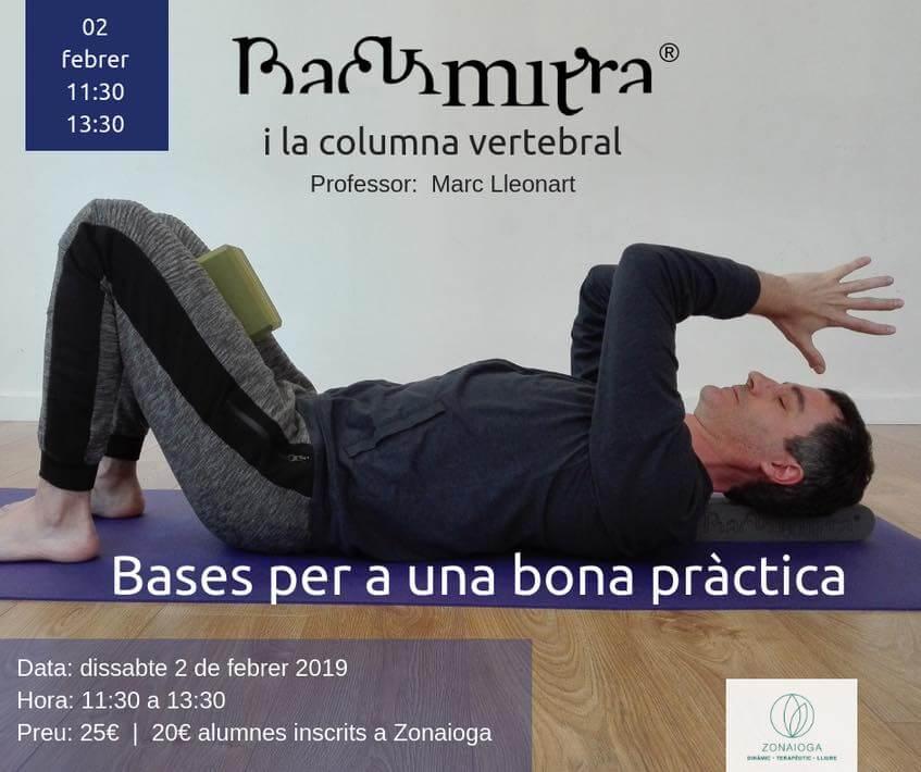 backmitra workshop met marc lleonart- 2-2-2019